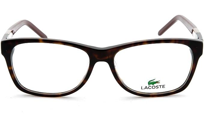 Lacoste L2691 001 53, Monturas de Gafas Unisex-niños, Black