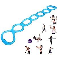FIVE BEE Draagbare 7 Ring Stretch en Weerstand Oefening Band | Terug, Voet, Ben, Hand Stretcher, Arm Oefenaar| voor…