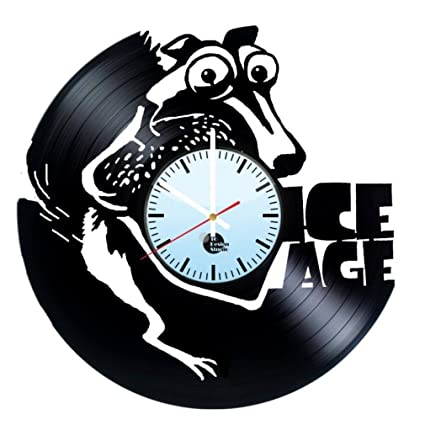 Ice Age Movies Vinyl Wall Clock Franchise Great Gift For Men Women Kids