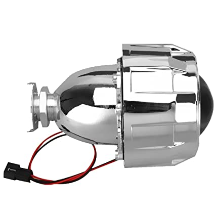 MagiDeal 2.5 H1 H4 H7 xenón Funda lámpara HID proyector Mini Faro ...