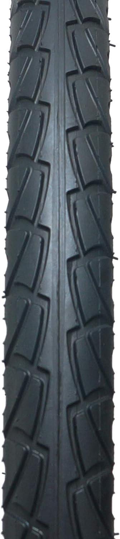 Fincci 26 x 1,95 Zoll 53-559 Slick Reifen mit 2,5 mm Pannenschutz f/ür Cityr/äder Rennr/äder Mountain MTB Hybrid Fahrrad