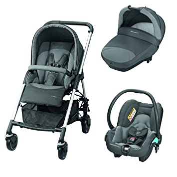 195e20c6e Bébé Confort Stroller Trio Streety Next one size Concrete Grey:  Amazon.co.uk: Baby