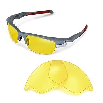 Walleva Ersatzgläser für Oakley Flak 2.0 Sonnenbrille - Mehrfache Optionen verfügbar (Titanium) 9uDVBS
