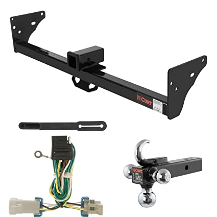 Astounding Amazon Com Curt Trailer Hitch Wiring W Tow Hook Ball Mount For Wiring Database Liteviha4X4Andersnl