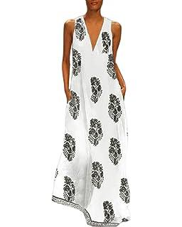 AGAING-women clothes Againg Womens Soft Irregular Hem Round Neck Cotton Linen Double Layered Dress