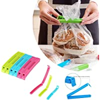 KetZeal® || Plastic Bag Sealing Clips | Food Snack Pouch Clip Sealer | 3 Different Size (Multicolor) – Pack of 18