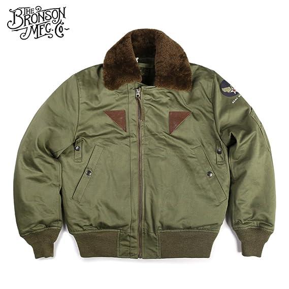 Men's Vintage Workwear – 1920s, 1930s, 1940s, 1950s Bronson 1944 USAF Type B15-A Flying Intermediate Jacket $169.99 AT vintagedancer.com