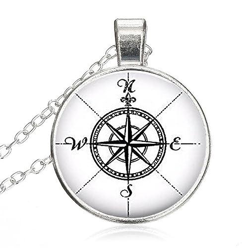 Amazon Com Mysterious Time Gem Pendant Chain Necklace Vintage