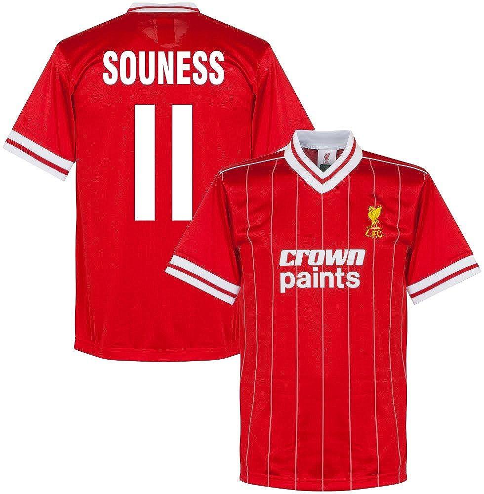 1982 Liverpool Home Retro Trikot + Souness 11