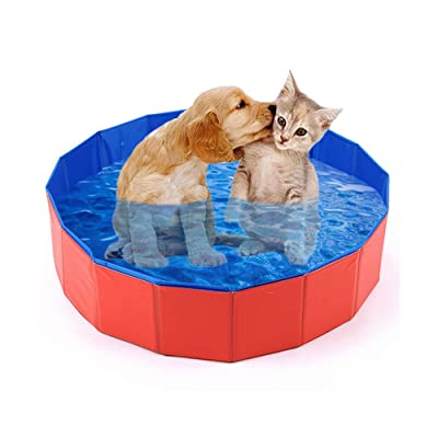 mcgrady1xm Collapsible Pet Dog Bath Pool