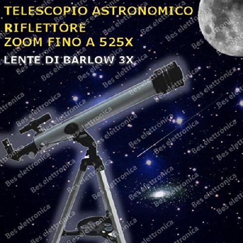 Astronomische Teleskop Spiegel 60 Mm Brennweite 700 Mm Fassung
