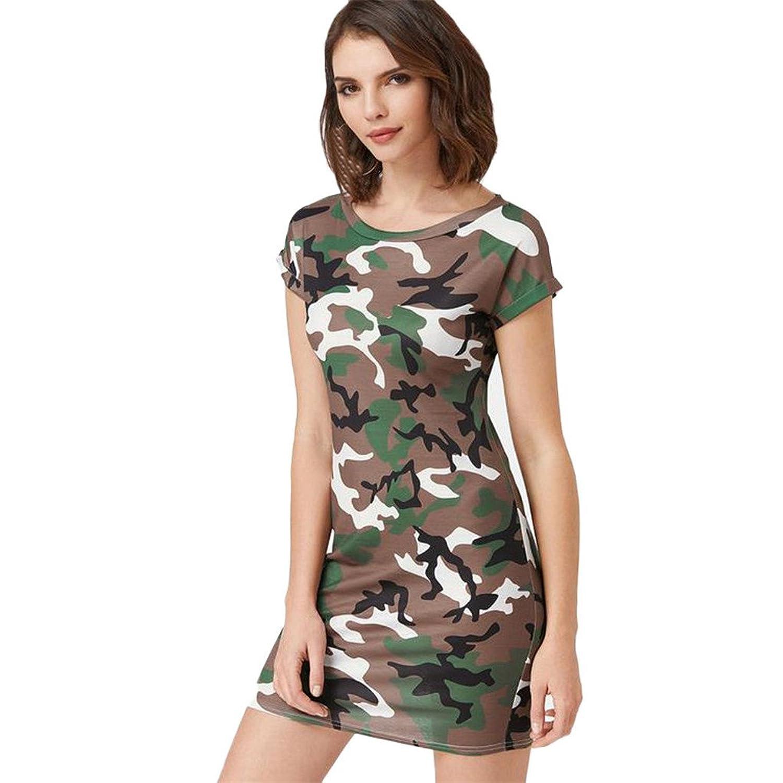 Damen Kleidung JYJM Mode Freizeitkleidung für Frauen Kleid ...