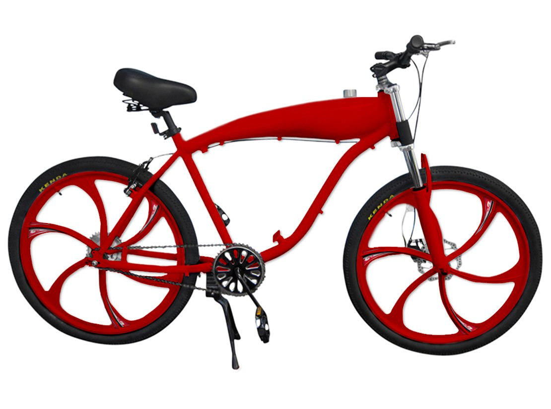 Amazon.com: BBR Tuning 26 Inch Motorized Bicycle Frame w/ 2.4L Gas ...