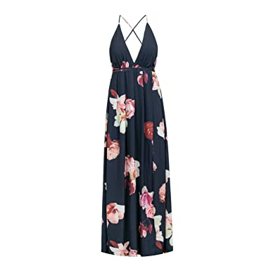 6e7c9a3c41 White Floral Off Shoulder Sexy Strap Summer Beach Dresses Backless ...