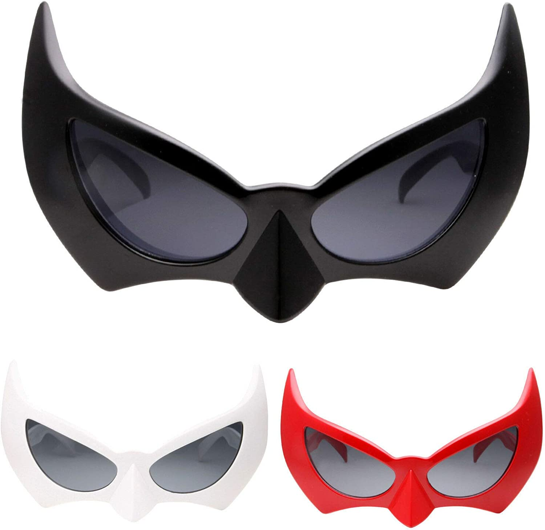 Batman Mask Sunglasses Dark Knight Batgirl Cat Woman Semi Masquerade Masks