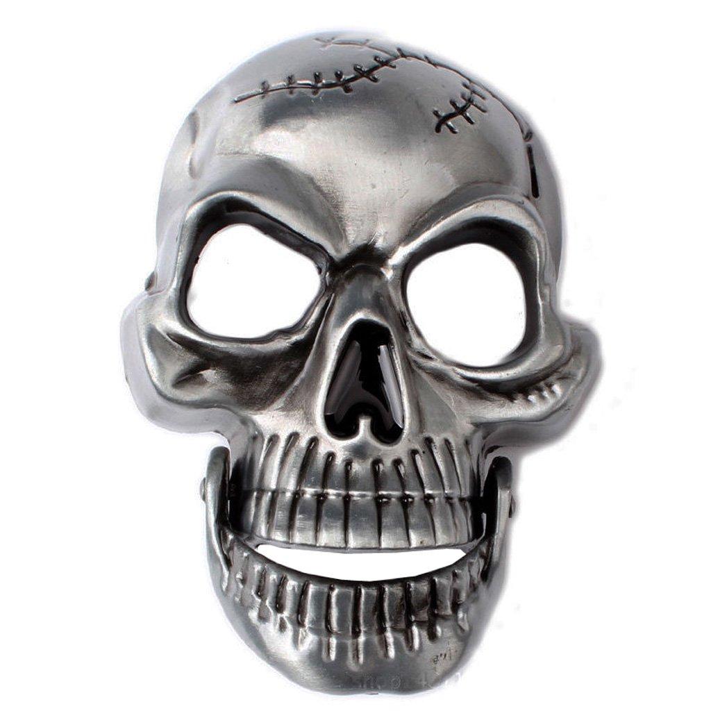 Patr/ón Tigre 6.8 x 6.5cm Prettyia Funny Adultos Joke Skull Gangster Rocker Biker CINTUR/ÓN DE Hebilla Hebilla del Cintur/ón