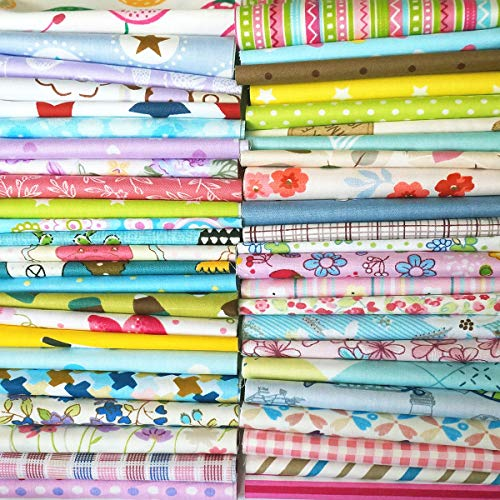 Top Cotton Craft Fabric Bundle Squares