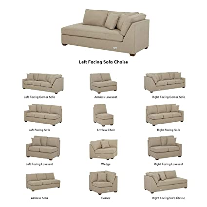 Enjoyable Stone Beam Bagley Sectional Component Left Facing Sofa Chaise Fabric 41W Dove Short Links Chair Design For Home Short Linksinfo