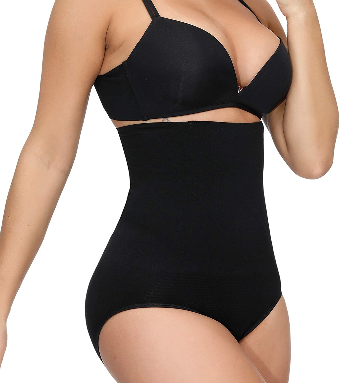 VITOMOR Women/'s High Waist Shapewear Thigh Slimmer Tummy Control Butt Lifter Underwear-Best 3 in 1 Body Shaper Waist Trainer Panties