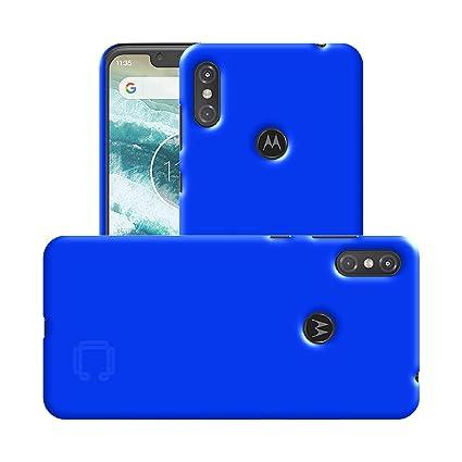 low cost cf2c4 1746a Case Creation Motorola One Power Back case, Luxury Rubberised Matte Hard  Case Back Cover for Motorola Moto One Power (2018) (6.2-inch) Color -  Luxury ...