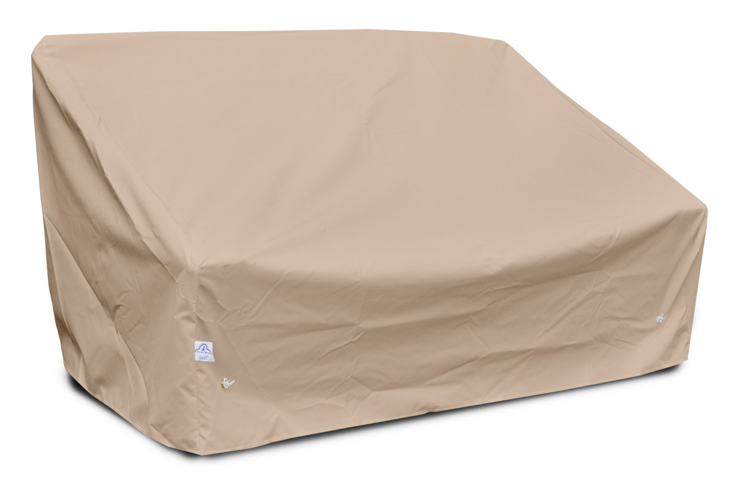 KoverRoos Weathermax 49950 Deep 2-Seat Sofa Cover, 61-Inch Width by 36-Inch Diameter by 32-Inch Height, Large Toast