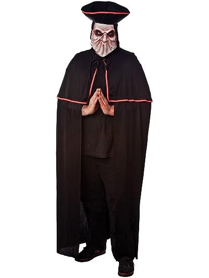 Amazon.com: Scary veneciano capa y sombrero disfraz: Toys ...