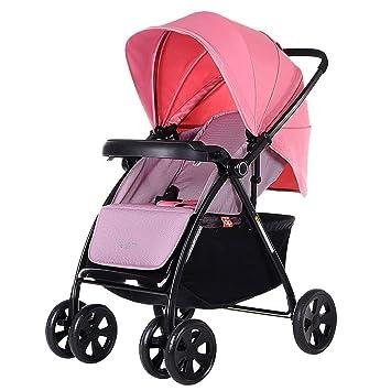 XYQ Carro de bebé-Baby Trolley Azul/Rosa Puede Sentarse Mint ...