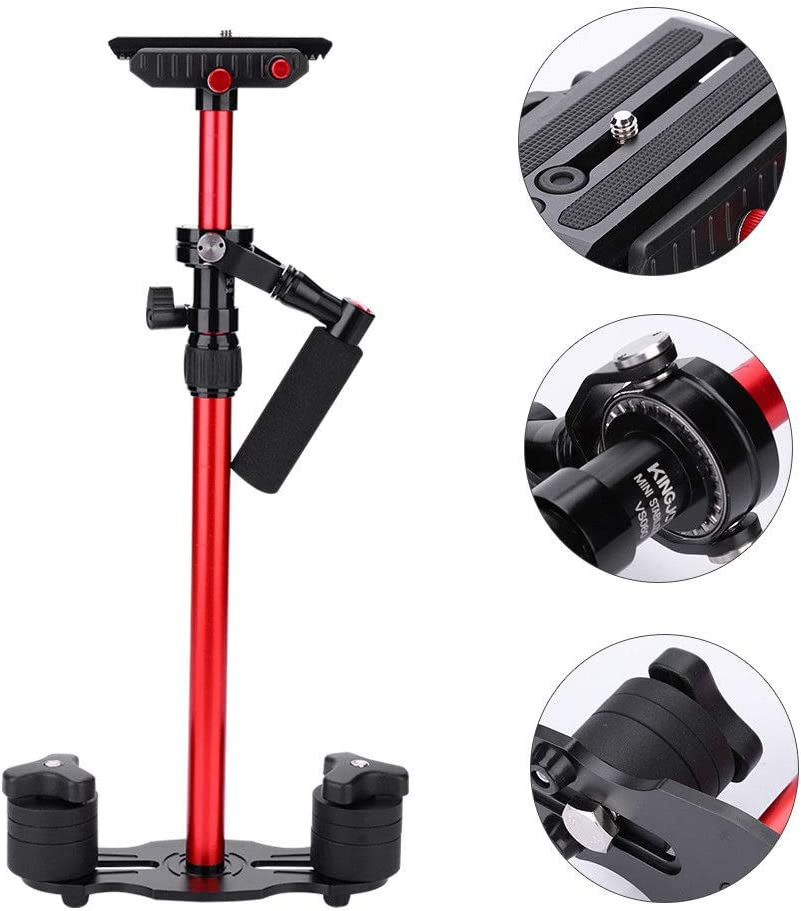 Top Deals KINGJOY Vs060 Gradienter Handheld Stabilizer For Dv Dslr Video Mirrorless Camera Camcorder Bt CHUN-Accessory