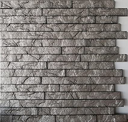 3 d wall panels modern acoustic wall ledge stone 3d wall panels interior design paneling decor commercial and residential application amazoncom