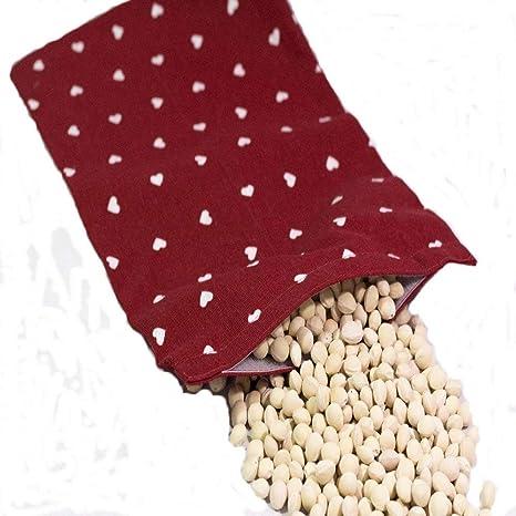 Cojín con huesos de cereza desenfundable y lavable Cuori ...