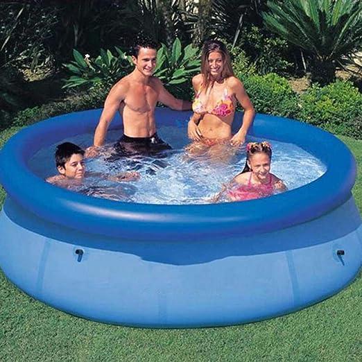swimming pool Piscinas Hinchables Gigante Tamaño Azul sobre El ...