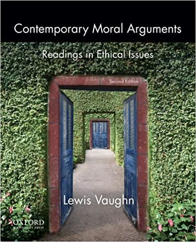 d484b1801 Amazon.com: Contemporary Moral Arguments: Readings in Ethical Issues ...