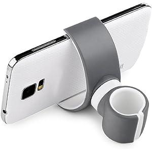 Beileer - Soporte en horquilla universal para teléfono móvil para Smartphones iPhone 6 6s plus Samsung