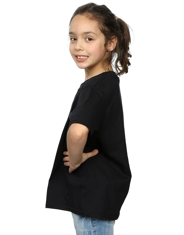 Harry Potter Girls Slytherin Sport Emblem T-Shirt: Amazon.co.uk: Clothing