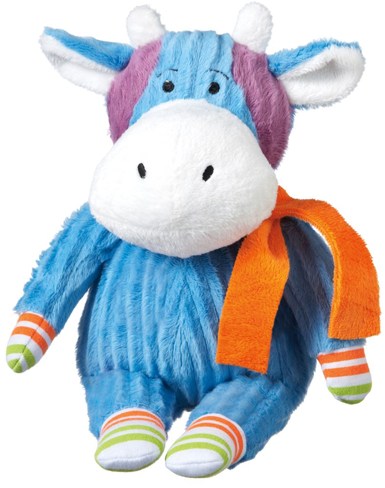 Monkeez ''Hazel'' Mini Blue Cow Plush