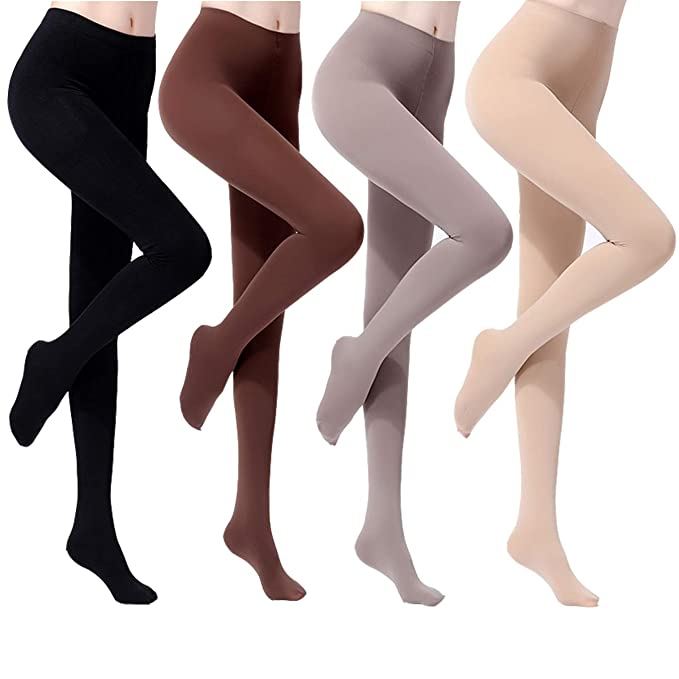L NEW WOMENS LADIES THICK OPAQUE SOFT 70 DENIER TIGHTS PANTYHOSE SIZE M L X