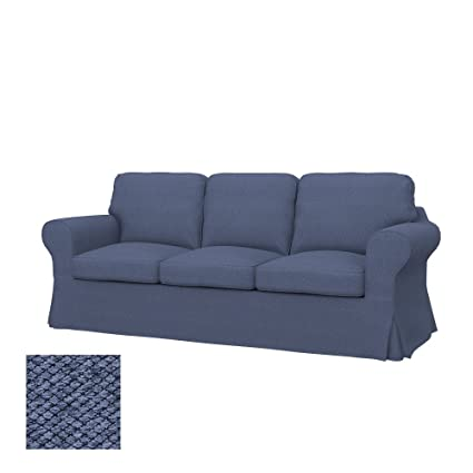 Amazon.com: Soferia - IKEA EKTORP 3-seat sofa cover, Nordic Denim ...