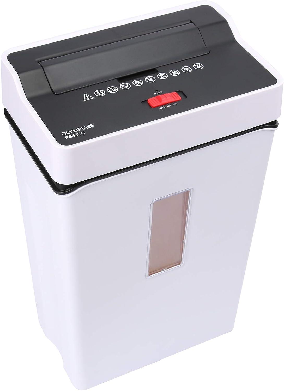 Olympia PS 55/cc Destructeur de documents blanc 4/x 40/mm