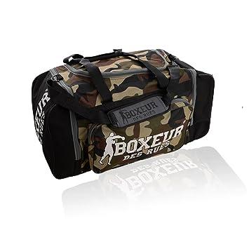 BOXEUR DES RUES BXT-18BAG - Bolsa de Deporte, Camouflage, U