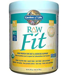 RAW Fit High Protein by Garden of Life 451 gram Amazonca