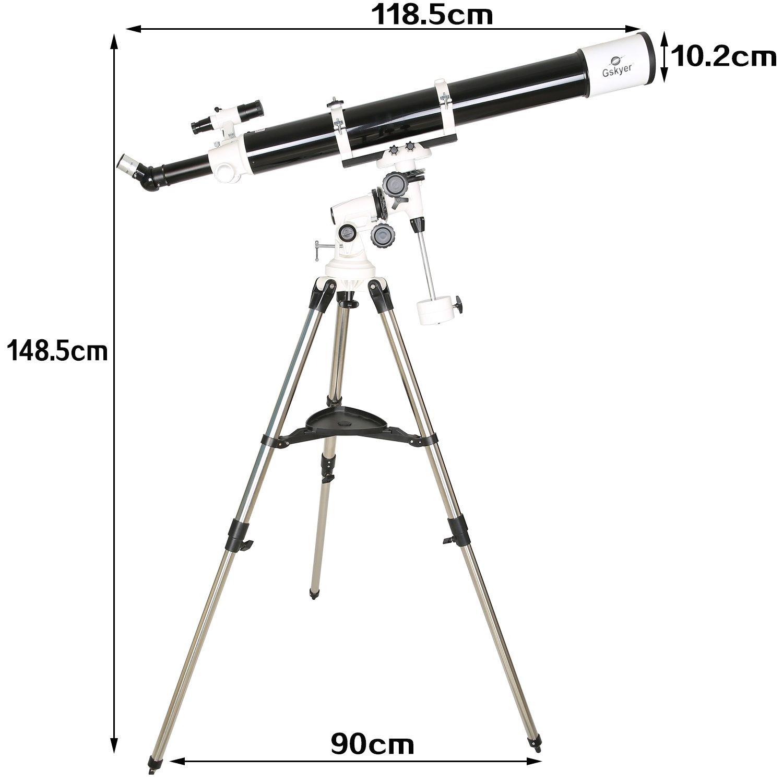 Gskyer Telescope EQ901000 Astronomy Telescope German Technology PowerSeeker Telescope