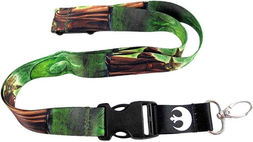 Star Wars Yoda Lanyard Key Chain