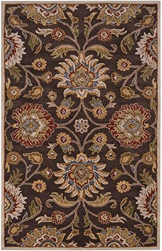 Surya Caesar Hand Tufted Classic Rug, 2-Feet by 3-Feet, Chocolate