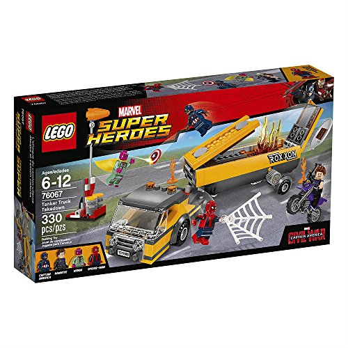 LEGO Marvel Super Heroes 76067 Tanker Truck - Truck Marvel