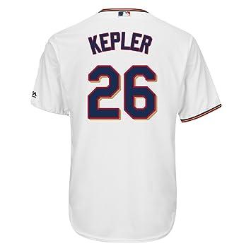 6d035bc1bbe Majestic Max Kepler #26 Minnesota Twins Cool Base MLB Jersey Home White XXL