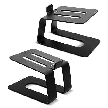 Schwarz mit 4 oder 2/Schubladen 18x25x33cm Arpan 2-Drawer Schwarz metall Schubladengestell