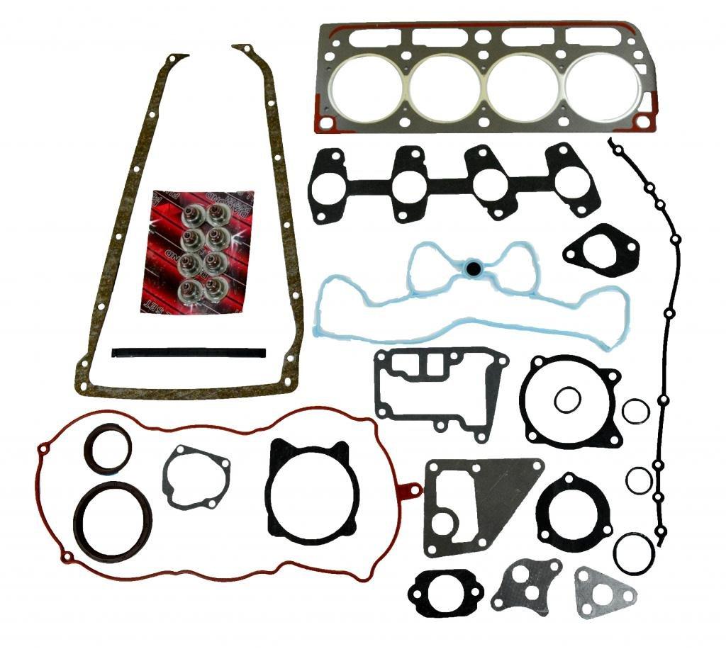 Diamond Power Full Gasket Set works with Chevrolet Cavalier S10 GMC Sonoma Isuzu Hombre Pontiac Sunfire 2.2L L4 134CID Vortec OHV 98-10