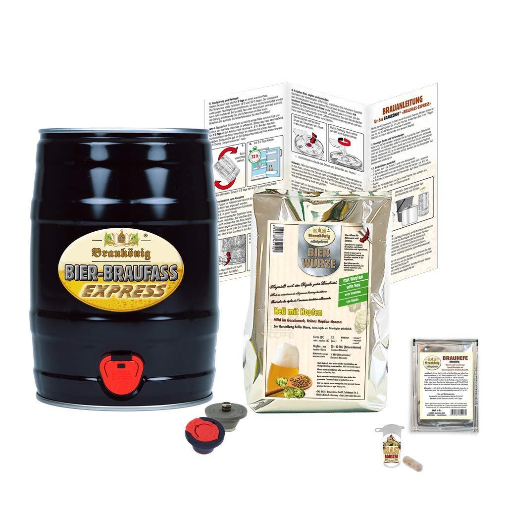 BRAUKÖNIG ® Braufass Express - Black Edition »Das Bier!« Brausysteme GmbH