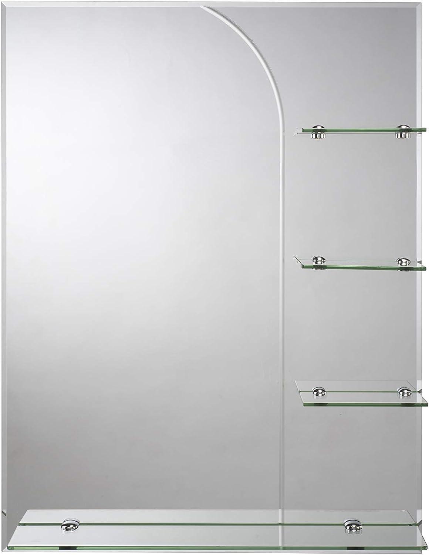 Croydex Bampton - Espejo para baño con estantería: Amazon.es: Hogar