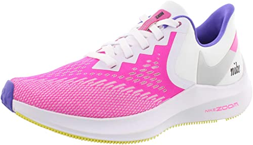 Nike Zoom Winflo 6 Blanco/Laser Fucsia/Psíquico Púrpura 5.5: Amazon.es: Zapatos y complementos